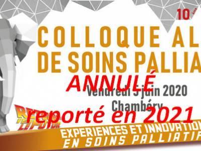 10ème colloque alpin de Soins Palliatifs 2020
